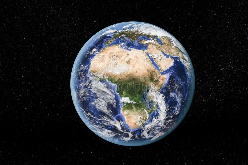 l'Afrique de l'espace photographie stock libre de droits