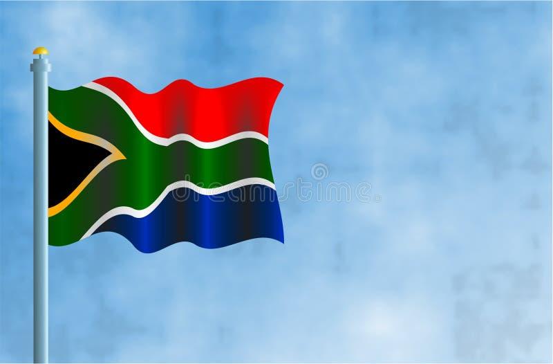 l'Afrique du Sud illustration de vecteur