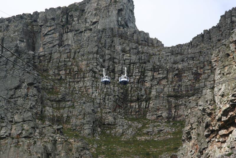 L'Afrique du Sud Capetown, montagne de table images stock