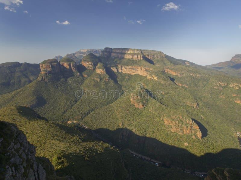 L'Afrique du Sud, gamme de montagne photos libres de droits