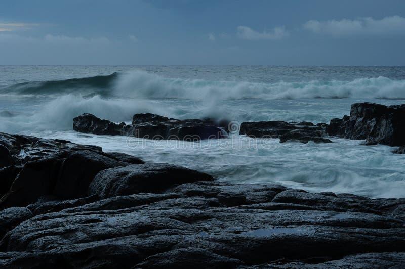 L'Afrique du Sud rentrée par paysage marin photo libre de droits