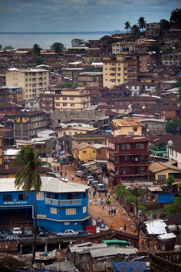 L'Afrique, Sierra Leone, Freetown photos stock