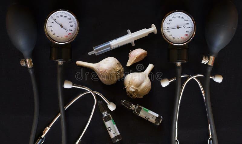 L'aglio E I Farmaci Per L'ipertensione Si Trovano Su Una..