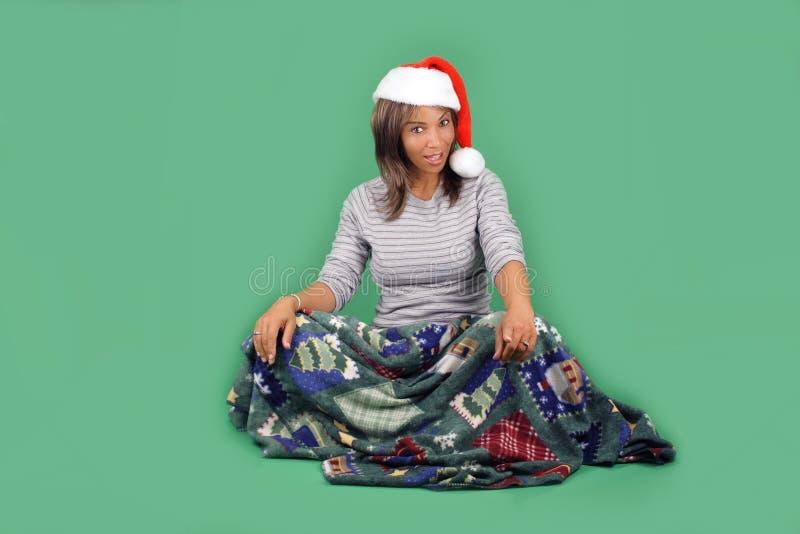 L'aide de belle Santa (10) photographie stock libre de droits