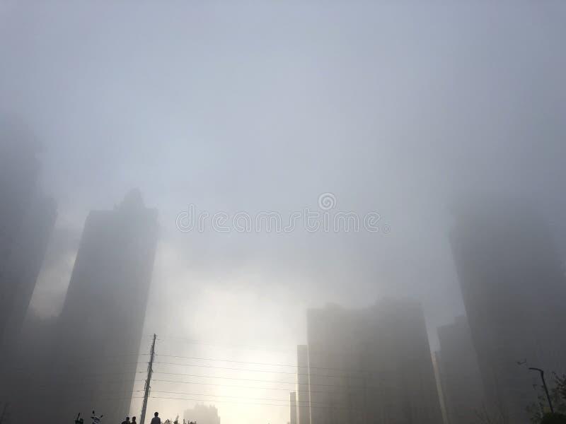 L'air pollué images libres de droits