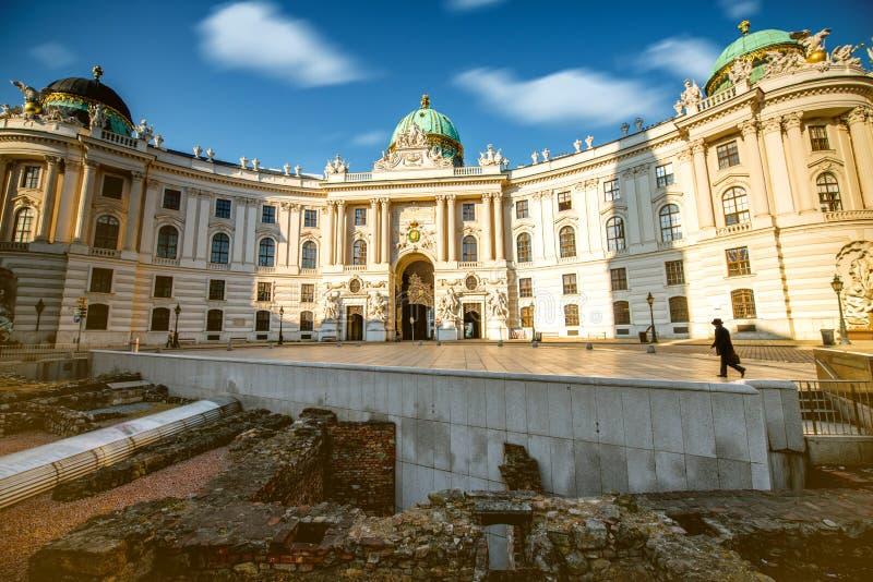 L'ala di St Michael a Vienna fotografia stock libera da diritti