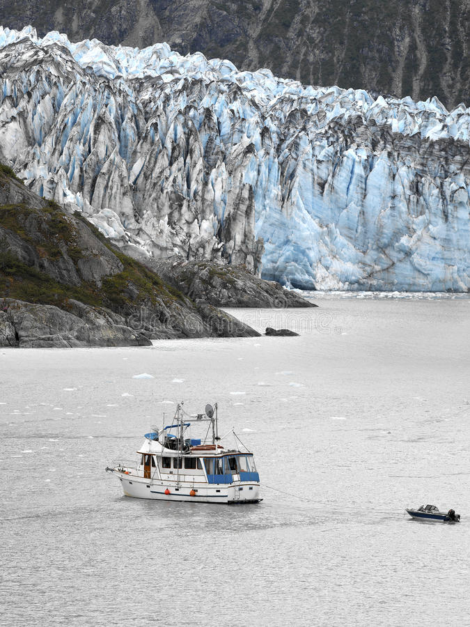 L'Alaska - ghiacciaio di Margerie immagine stock