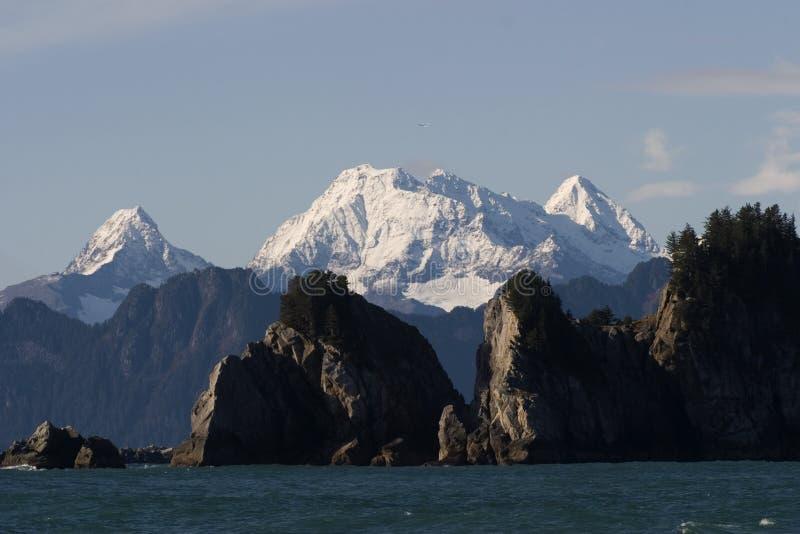L'Alaska, penisola di Kenai immagine stock