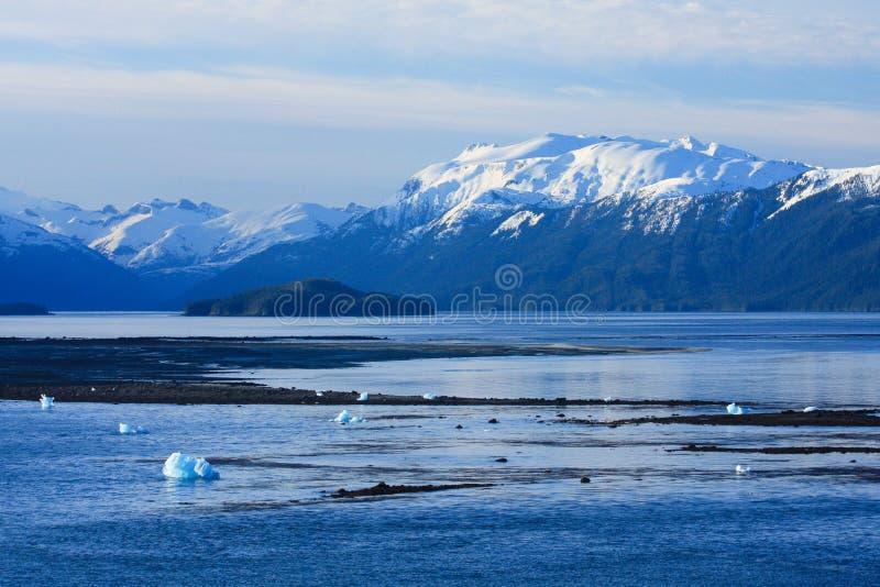 L'Alaska scénique images libres de droits