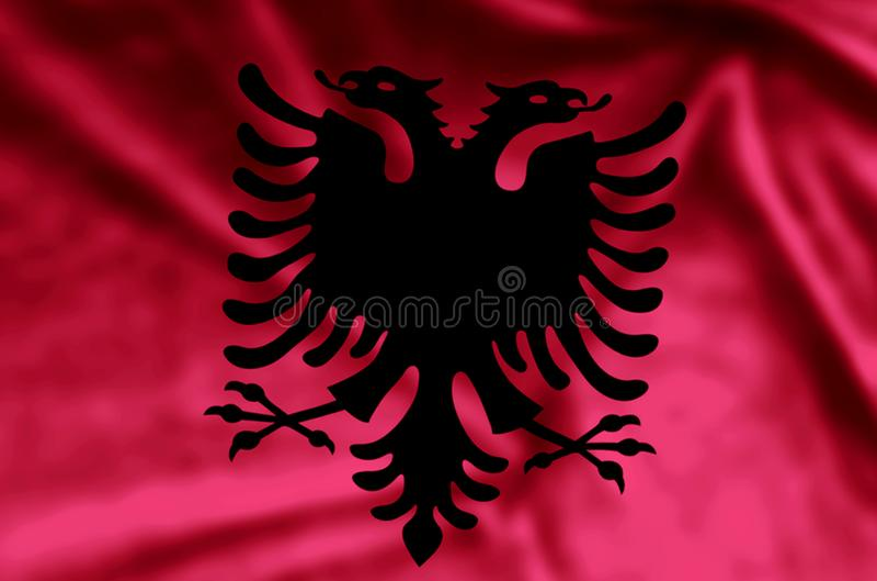 l'albanie illustration libre de droits