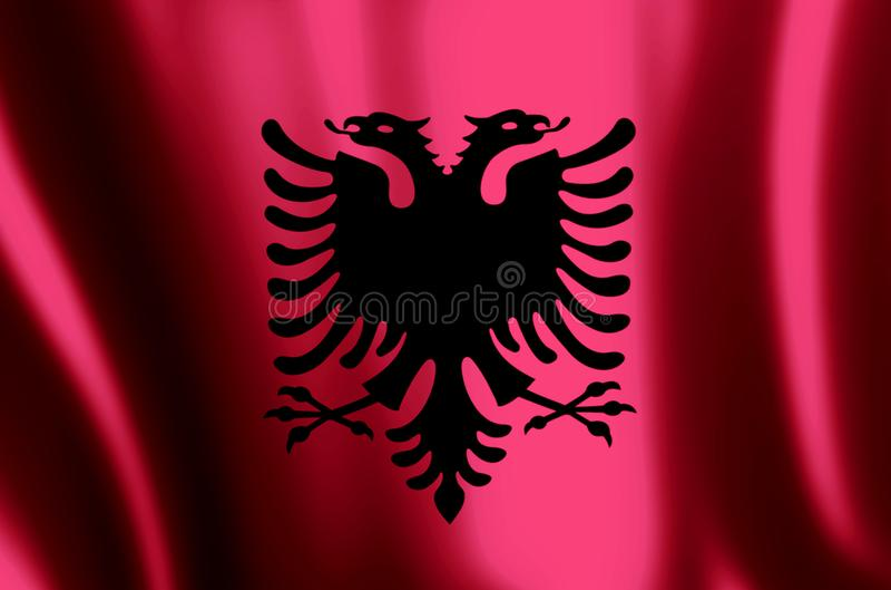 l'albanie illustration stock