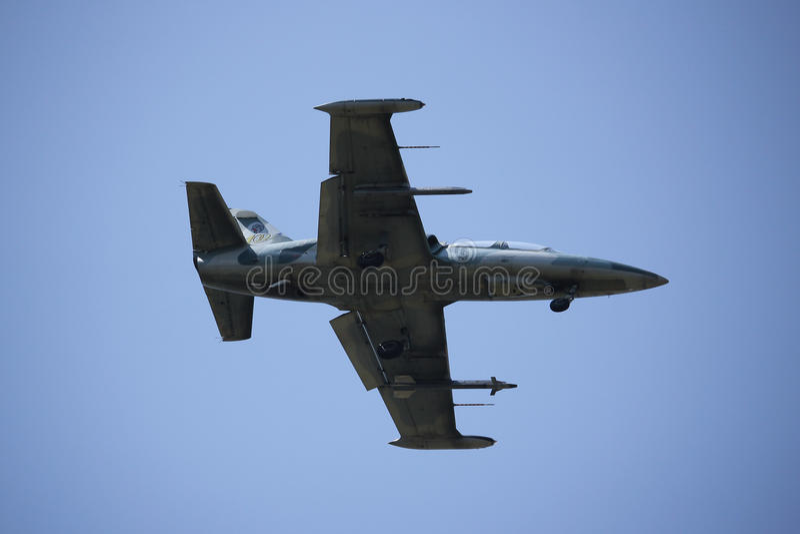41134 L-39 Albatros of Royal Thai Air force stock image