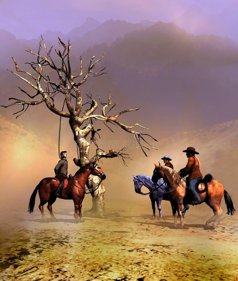L'albero d'attaccatura illustrazione di stock