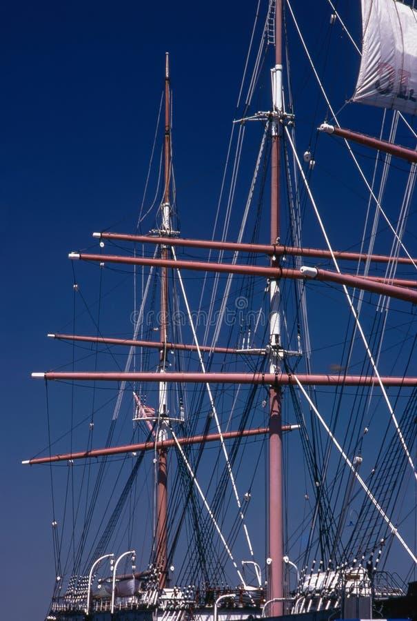 L'albero di una nave alta fotografie stock libere da diritti