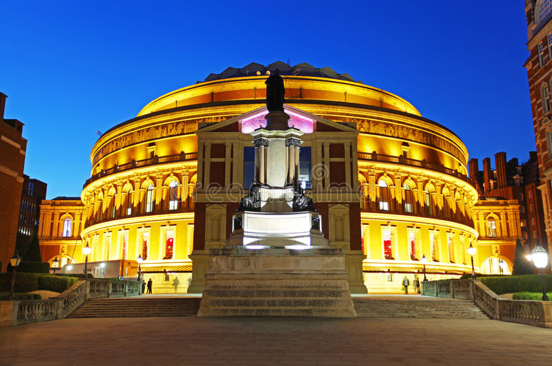 l'Albert royal Hall à Londres images stock