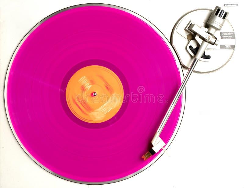 L'album rose image stock