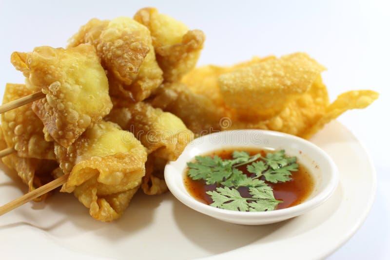 L'alimento tailandese fritto ha vinto la tonnellata fotografia stock libera da diritti