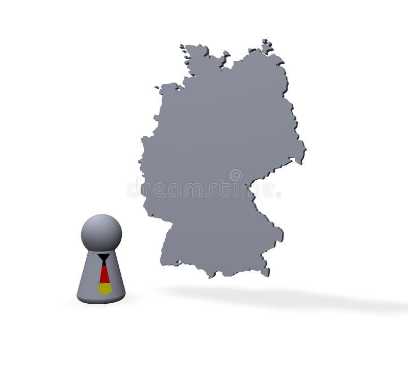 l'Allemagne illustration stock