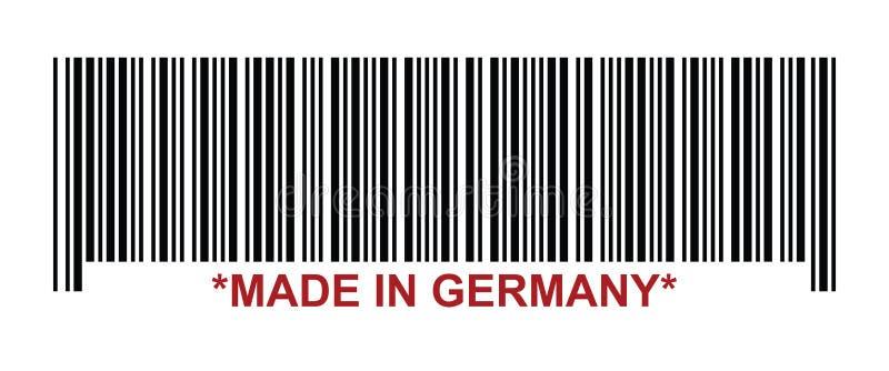 l'Allemagne a effectué illustration stock