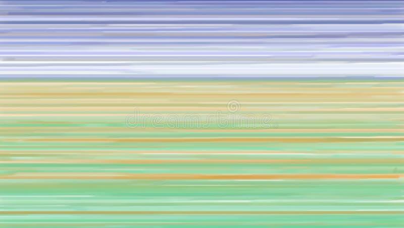l'Allemagne en couleurs illustration de vecteur
