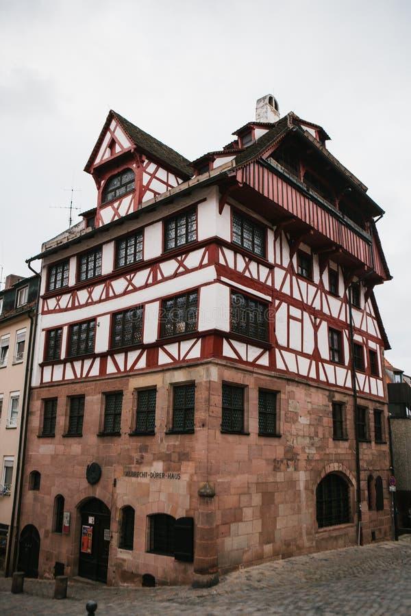 L'Allemagne, Nuremberg, le 27 décembre 2016 : Chambre du ` s d'Albrecht Durer Un bâtiment célèbre dans la ville vue photographie stock