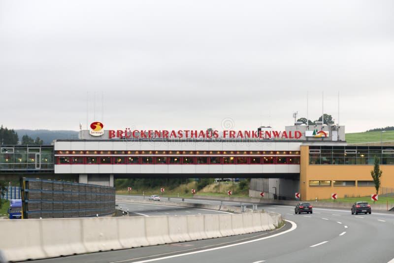 L'Allemand de l'Est s'est dégradé ferme photographie stock libre de droits