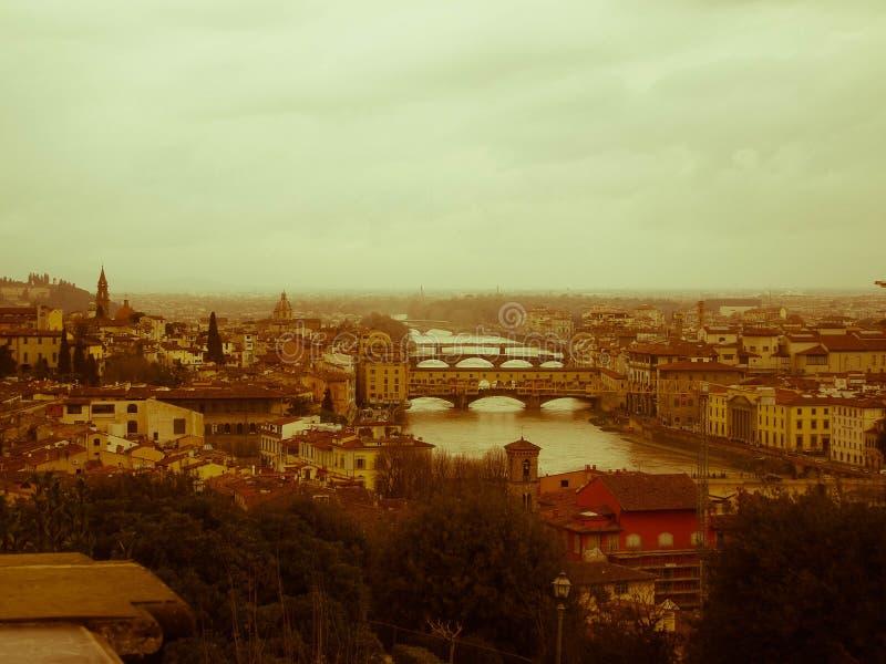 L'allora Firenze/когда-то в Флоренсе стоковое изображение rf
