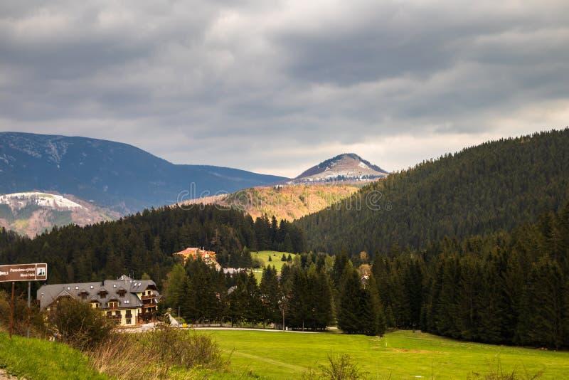 L'alta montagna di Tatry in Polonia dentro può fotografia stock libera da diritti