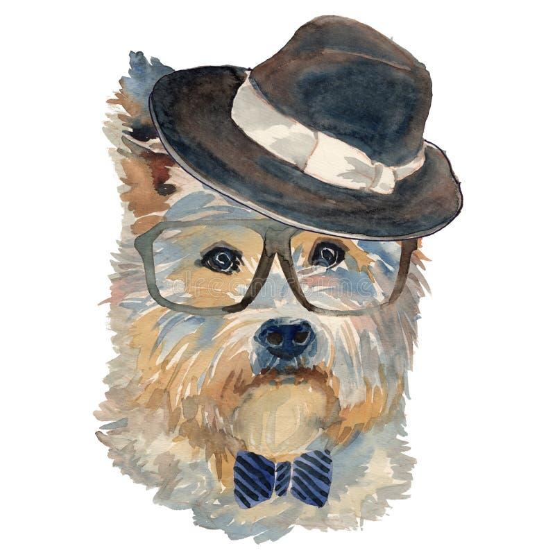 L'altopiano Terrier bianco ad ovest royalty illustrazione gratis