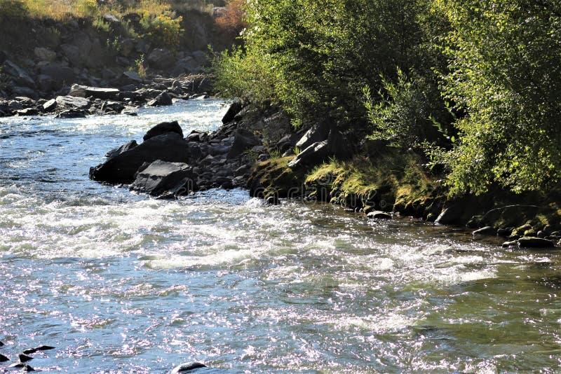 L'altro lato di The Creek fotografia stock