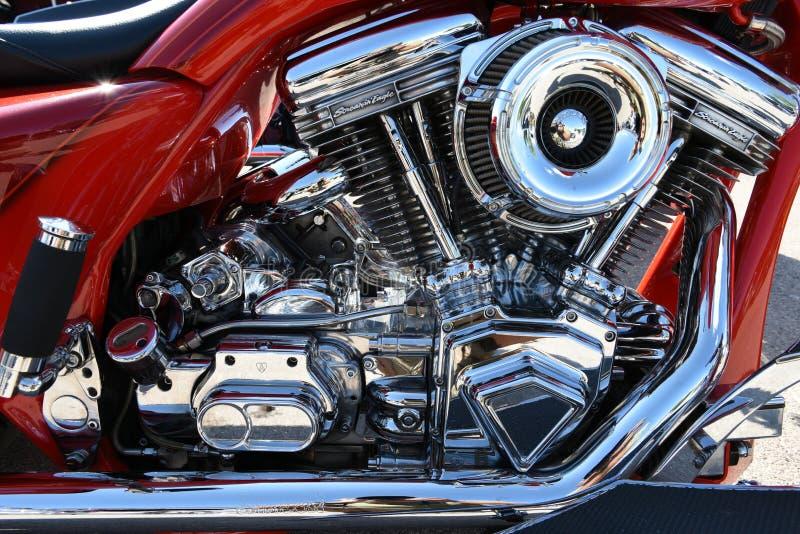 """L'Américain a fait moto de Harley Davidson Screamin la """"Eagle photo libre de droits"""