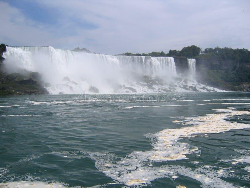 l'Américain tombe chez Niagara photographie stock libre de droits