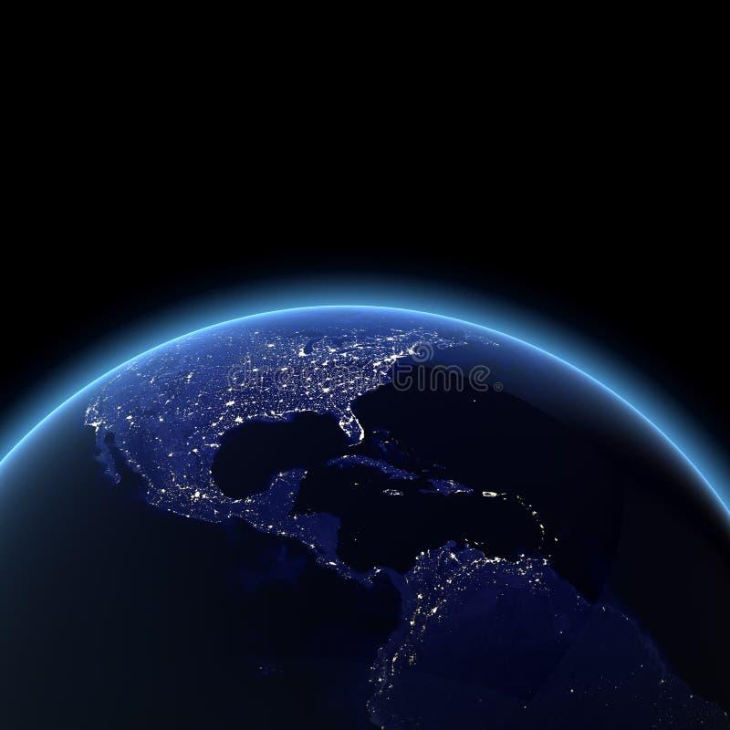 l'Amérique Centrale illustration de vecteur