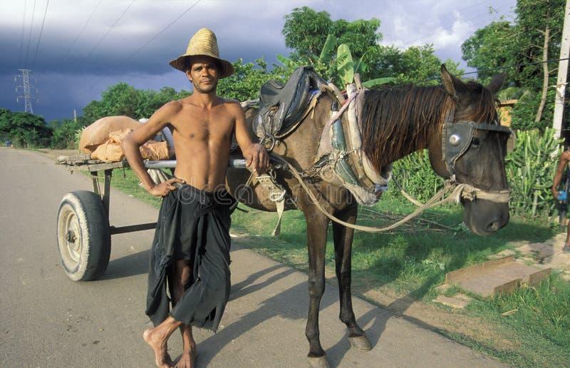 L'AMÉRIQUE CUBA HOLGUIN images stock