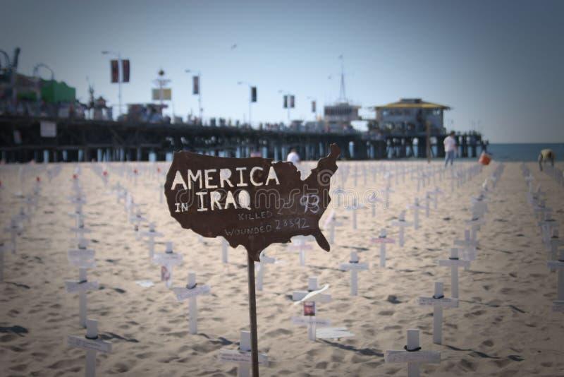 l'Amérique en Irak photo libre de droits
