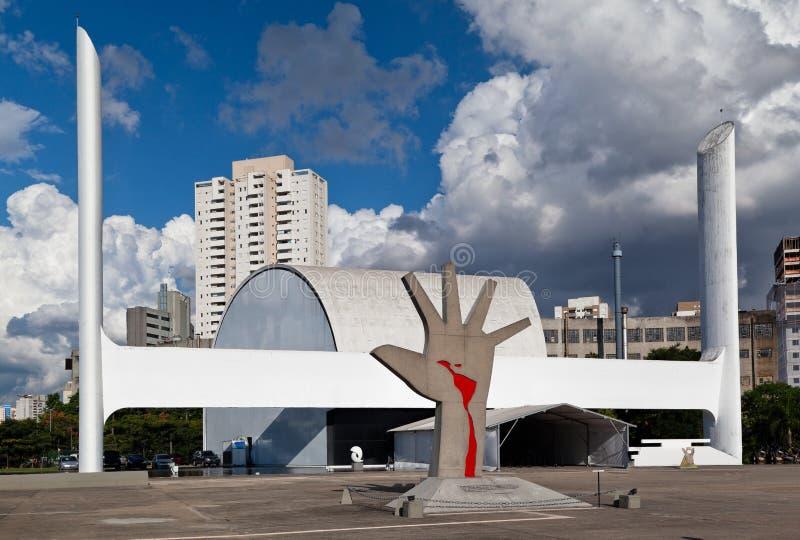 l'Amérique latine Sao Paulo commémoratif Brésil image stock