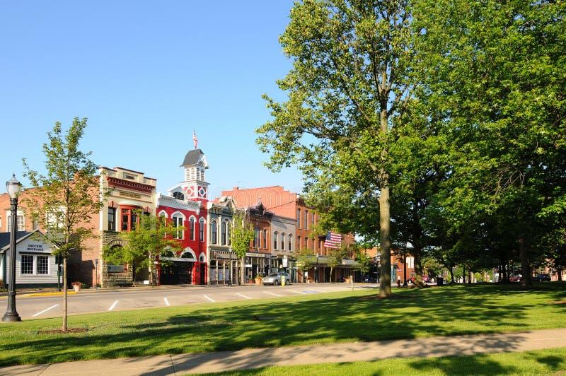 l'Amérique Small-town photo libre de droits