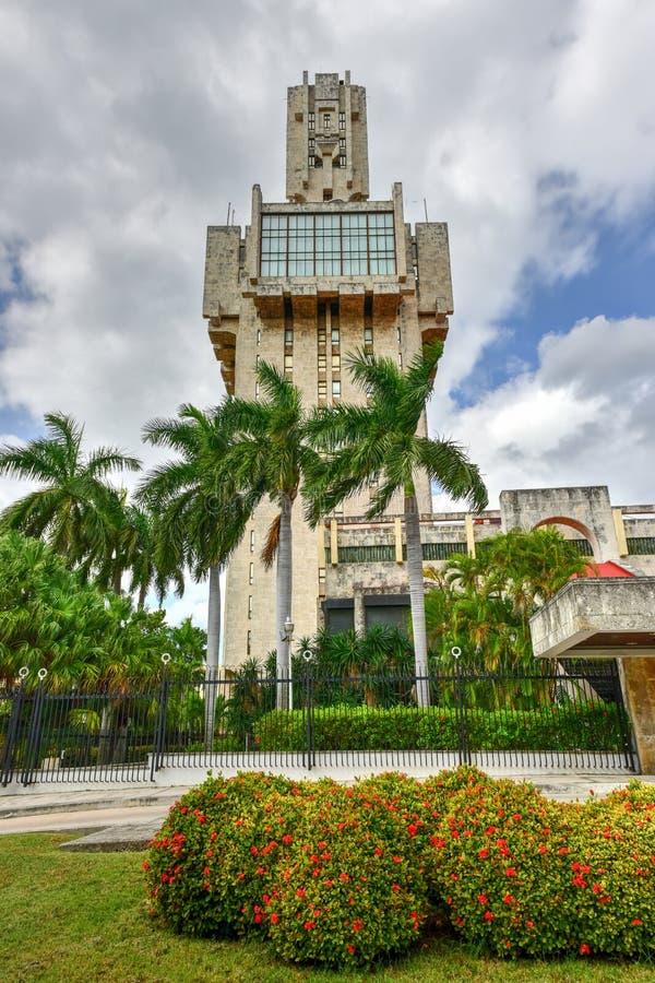 L'ambasciata della Russia a Avana, Cuba immagine stock