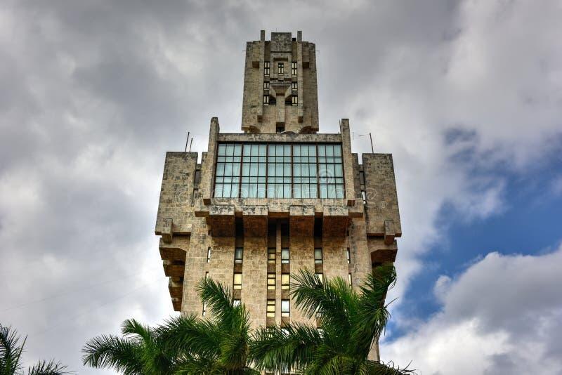 L'ambasciata della Russia a Avana, Cuba immagini stock