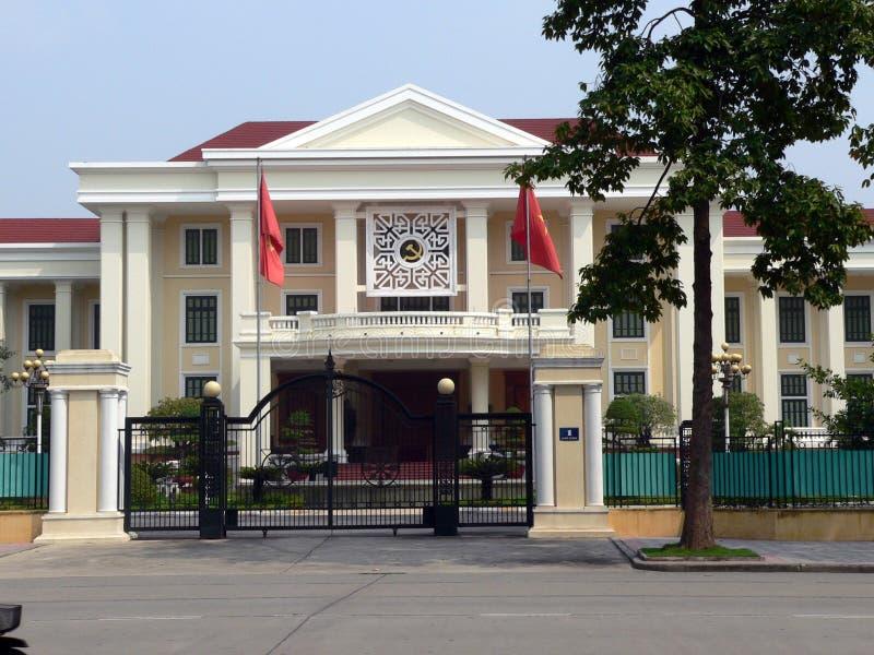 L'ambasciata russa, Hanoi fotografia stock