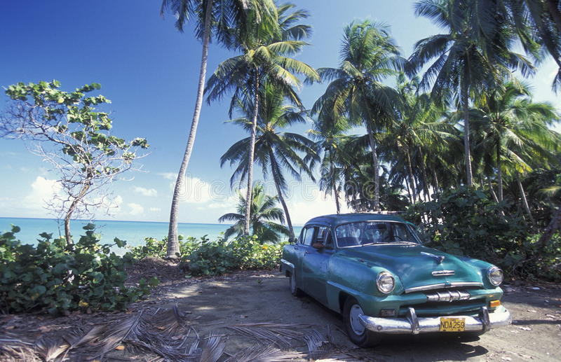 L'AMERICA CUBA BARACOA immagini stock libere da diritti