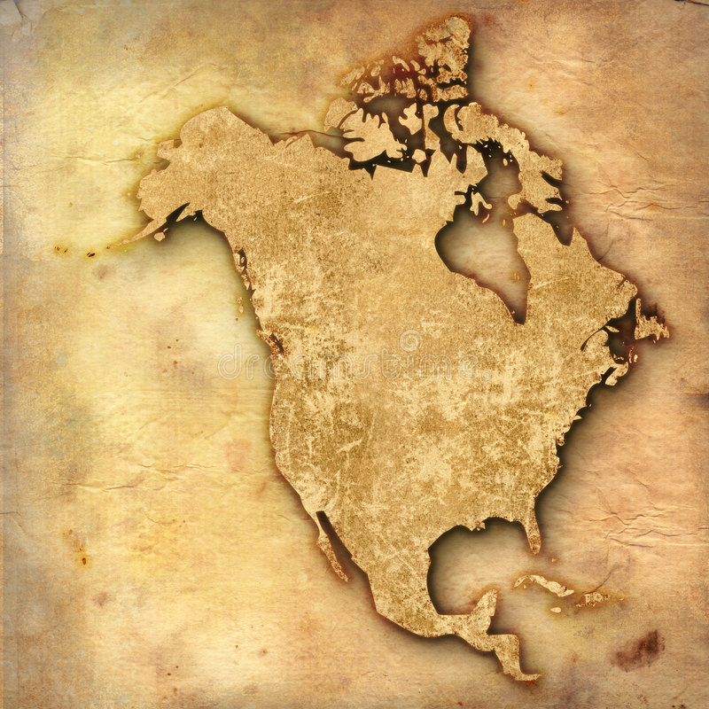 L'America invecchiata illustrazione vettoriale
