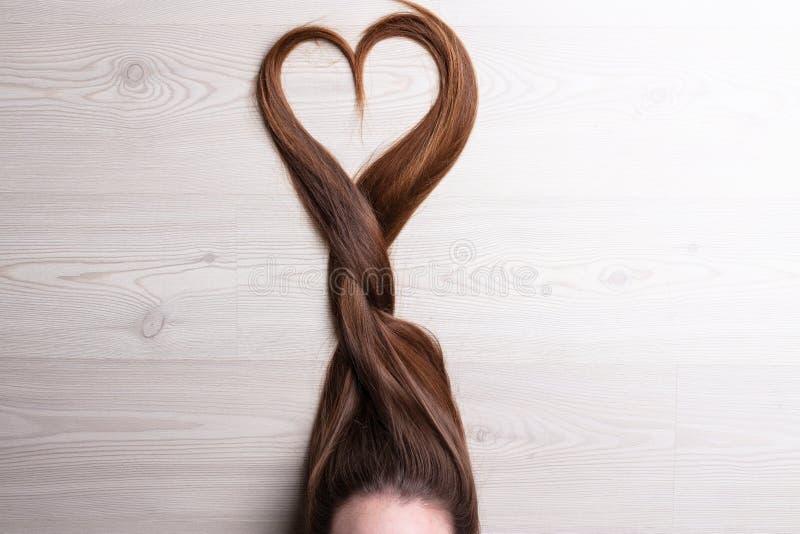 L'amore è nei capelli immagini stock libere da diritti