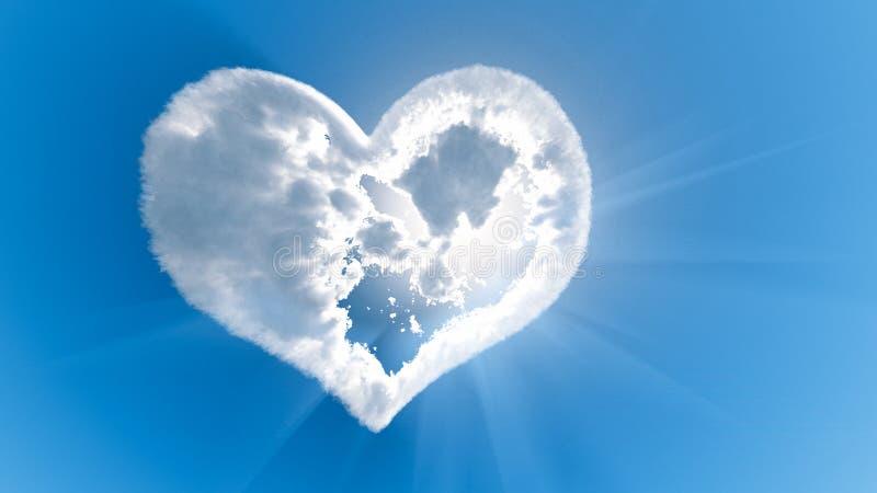 L'amour de Dieu images libres de droits