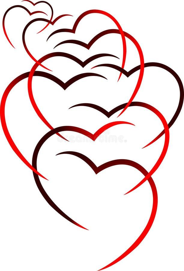 L'amour donne des ailes illustration libre de droits