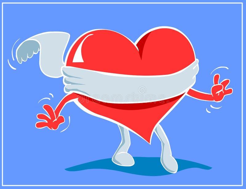 L'amour est sans visibilité illustration libre de droits