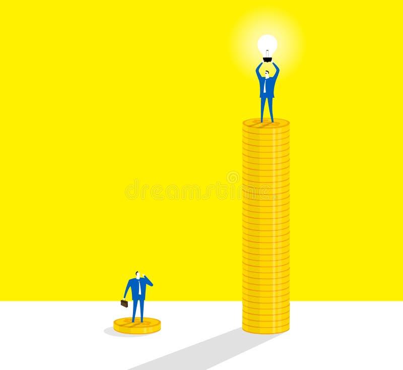 L'ampoule illustration stock