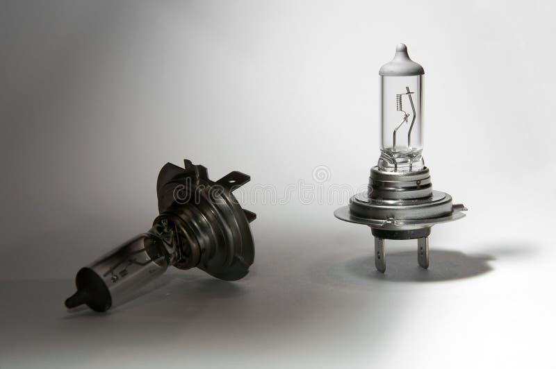 L'ampoule ne fonctionnant pas peut être jetée image stock