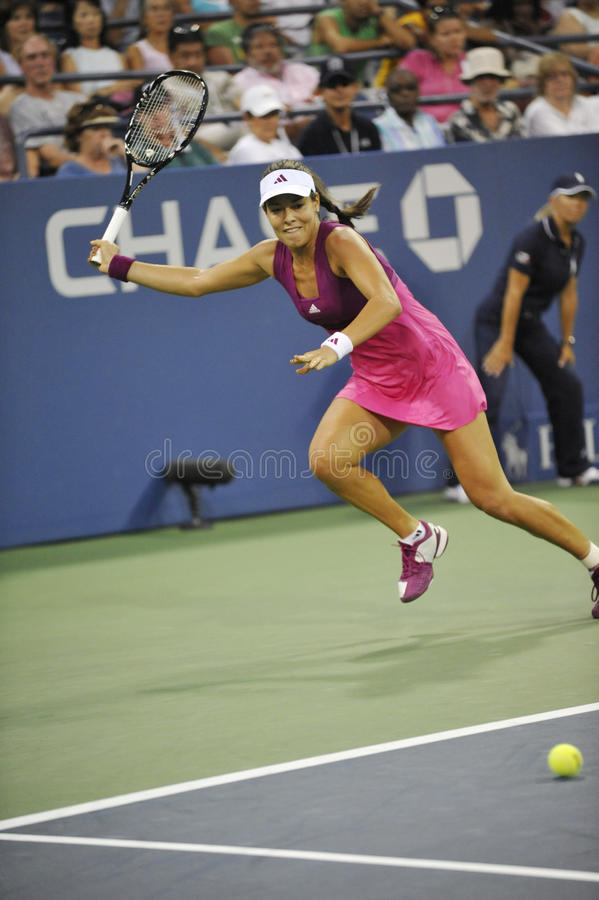 L'ana d'Ivanovic aux USA ouvrent 2010 (53) image stock