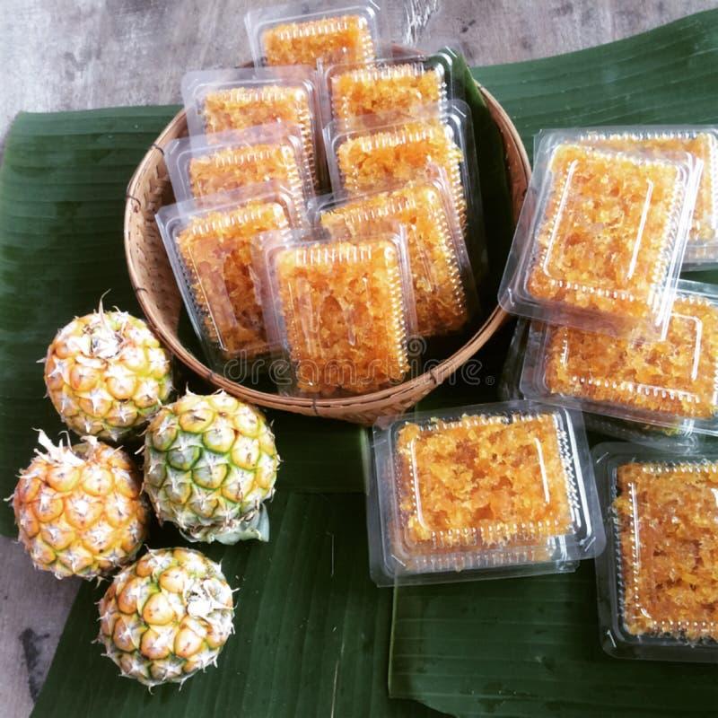L'ananas è una frutta popolare per il cibo sano fotografie stock